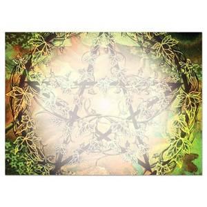 Dubbla vykort - The Old Path