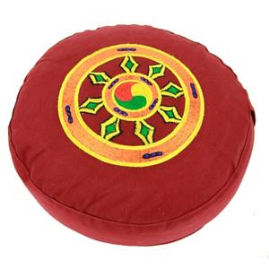 Meditationskudde -  Dharma Hjul