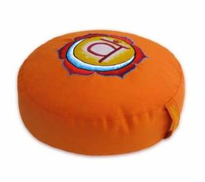 Meditationskudde -  Chakra  -  Orange - Swadhishthana