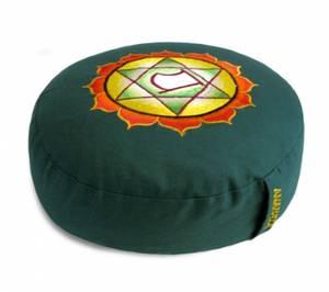 Meditationskudde -  Chakra  - Grön - Anahata