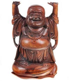 Happy Buddha  Staty