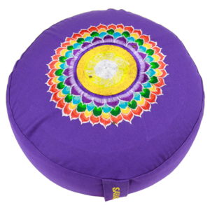 Meditationskudde -  Chakra  - Lila - Sahasrara