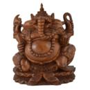 Balinese Trä Ganesha