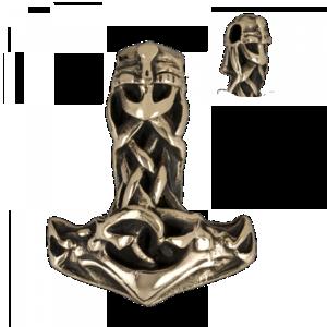 Torshammer i Brons - Celitc Viking