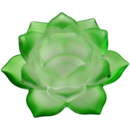 Näckros Lykta - Grön