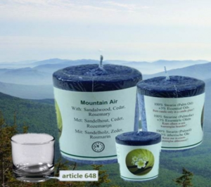 Doftljus / Ljus - Mountain Air