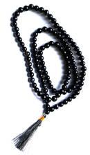 Svart Onyx Mala Radband -  108 pärlor