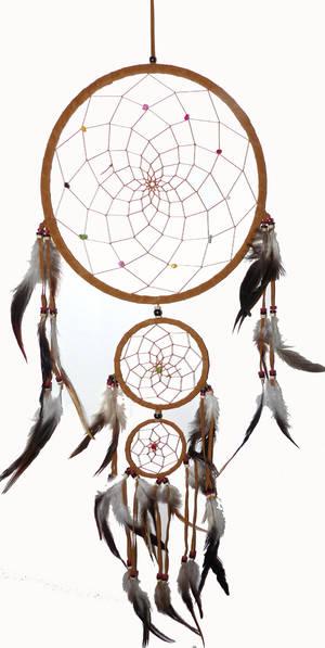 Drömfångare - 3 ring  - 90cm