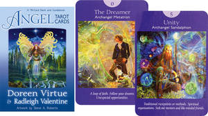Angel Tarot Cards - Doreen Virtue . Engelska