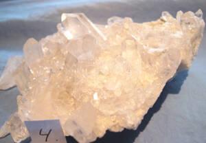 Bergkristall Kluster #4