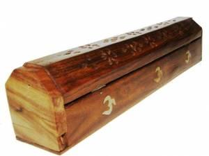 Rökelse brännare & förvaringsbox OM - 30 cm