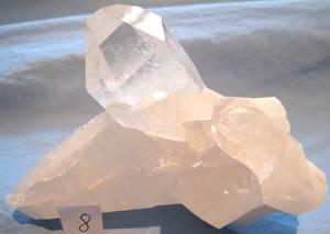 Bergkristall Kluster #8