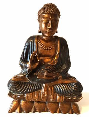 Mediterande Mudra Buddha - 25cm