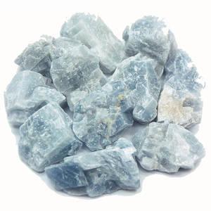 Blå Kalcit - Rå - Små