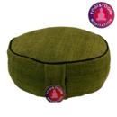 Meditationskudde - Hampa - Grön