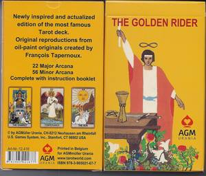 The Golden Rider Tarot