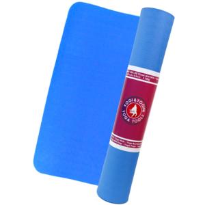 Yogamatta - Chakra Färg - Eko - Blå - 3mm