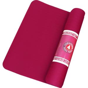 Yogamatta - Chakra Färg - Eko - Bordeaux - 3mm