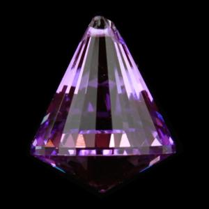 Glas Prismor - Kondroppa  -  Lila
