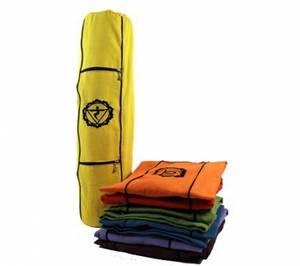 Yogamatta Väska - Chakra - Gul