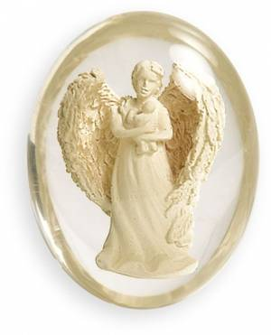 Angels: Worry Stone - Serenity Heart Happiness