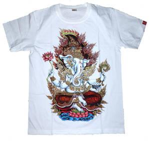 T-Shirt - Ganesha -Guld