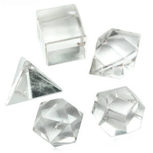 Platonic Solids Set av 5