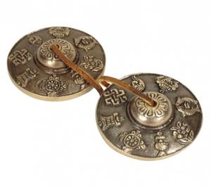 Thingsha - Cymbals 8 symbols of prosperity - ca. 7.5cm