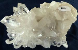 Bergkristall Kluster #E