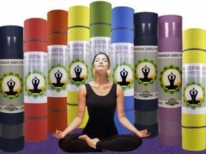 Yogamatta - Chakra Färg - Eko - Turkos