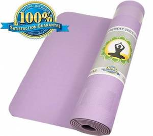 Yogamatta - Chakra Färg - Eko - Lila