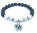 Lotus Armband - Lavasten och Howlit