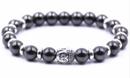 Buddha Armband - Hematit - STYL2
