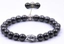 Buddha Armband - Hematit - STYL4