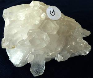 Bergkristall Kluster #G