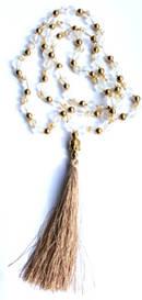Mala Halsband med Toffs - Frostatglas