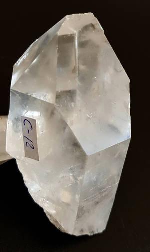Bergkristall Spetsar -  Oslipade  - C12