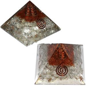 Organite Pyramid - Bergkristall