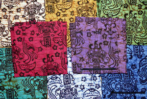 Yogamatta Väska - Batik