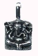 Ganesha Hänge i Silver