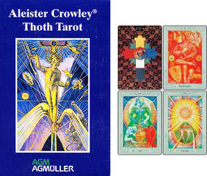Crowley Thoth Tarot - Stor  / Large