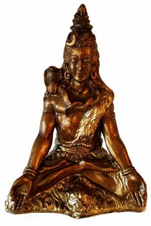 Mediterande Shiva Staty - 30cm