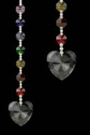 Feng Shui Prismor i Chakra färg - Hjärta
