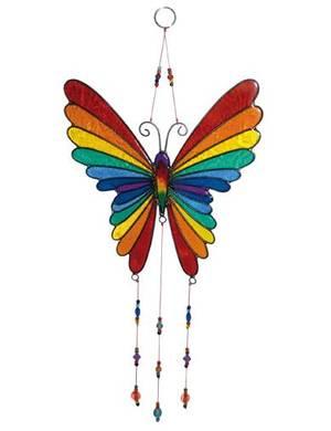 Solfångare - Regnbåge fjäril