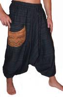 Haremsbyxor - Baggy - Tribal  Weave