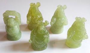 Ny Jade (Serpentin)  Buddha