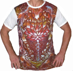 SURE T-shirt - Cosmic Lotus