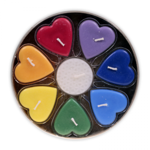 Hjärta DoftLjus - Rättvisemärkt