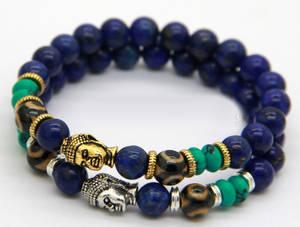 Buddha Armband - Lapis Lazuli
