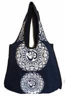 Väska  - Aum Mandala Tribal -  Blå